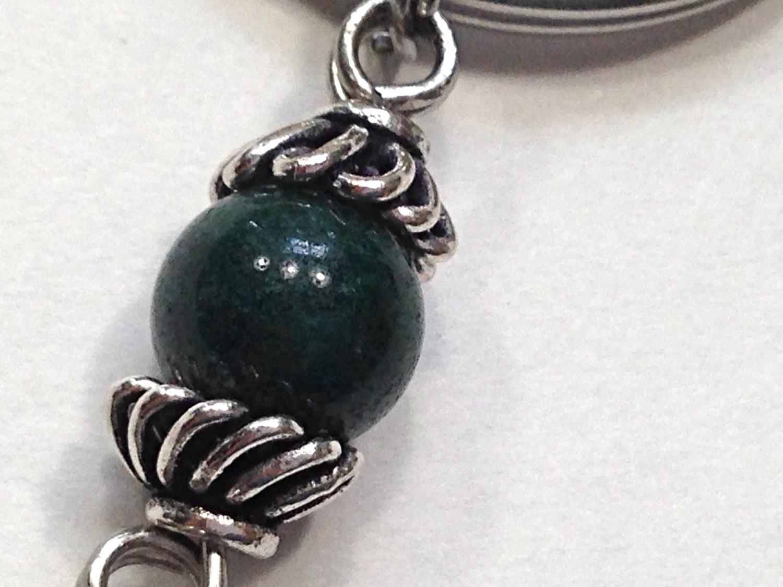 Keychain – Celtic Pewter & Black Enamel Cross, Dark Green Mountain ...